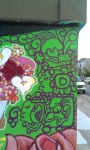 Aztec street art Mission district San Francisco