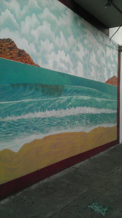 street art 24th & Treat San Francisco