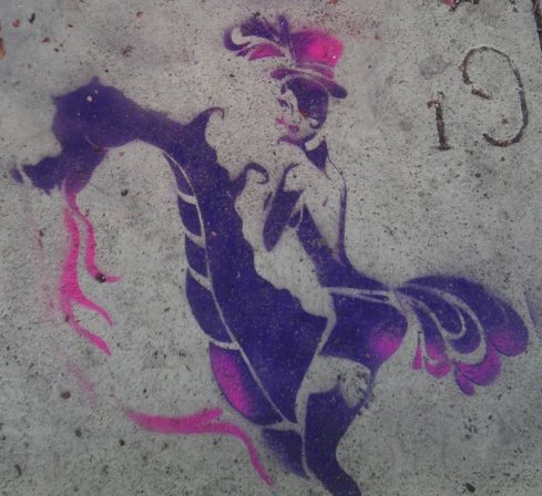 Dragon Lady Eclair Acuda Bandersantch Street Art San Francisco