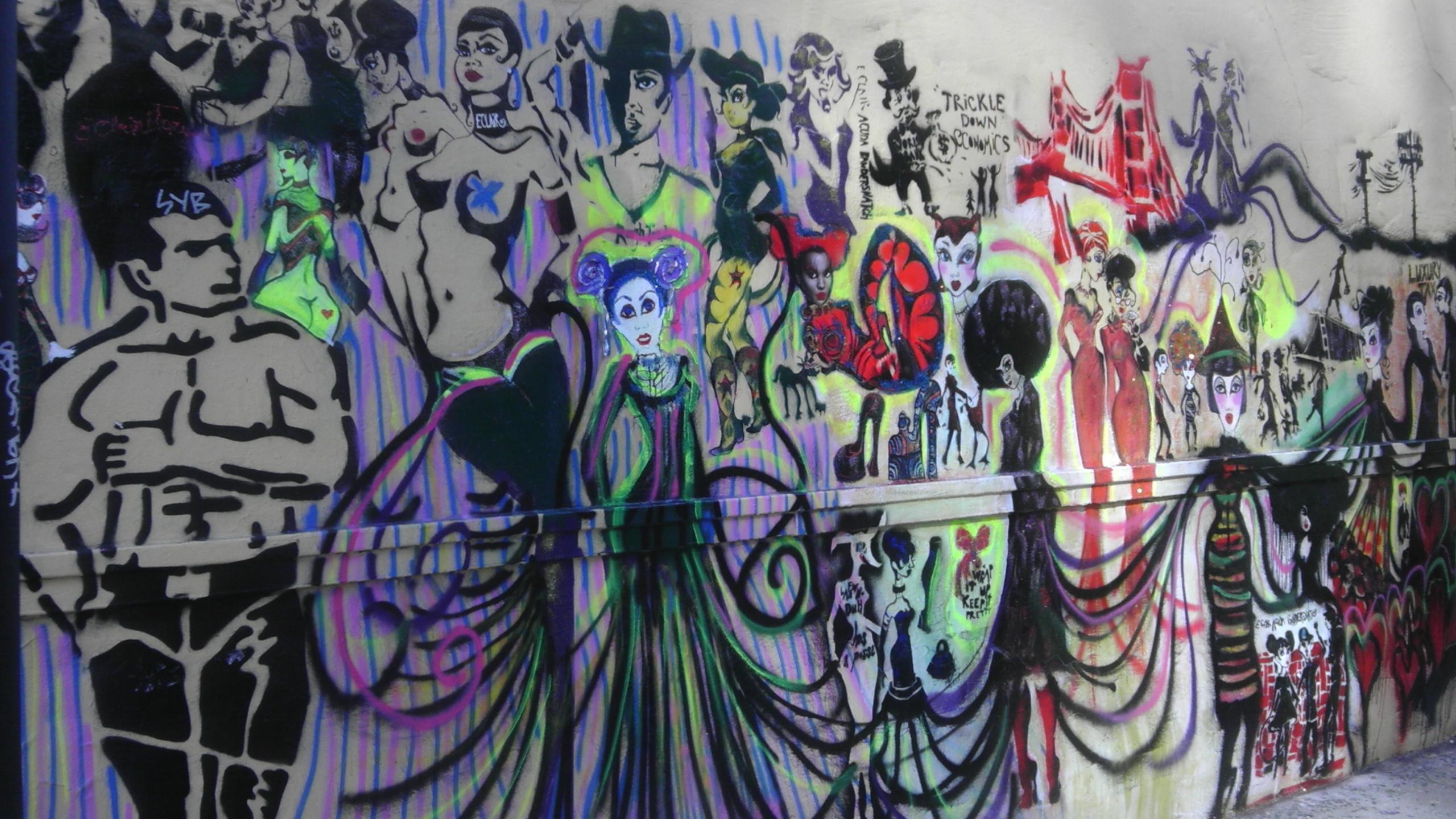 Eclair Acuda Bandersantch Street Art San Francisco