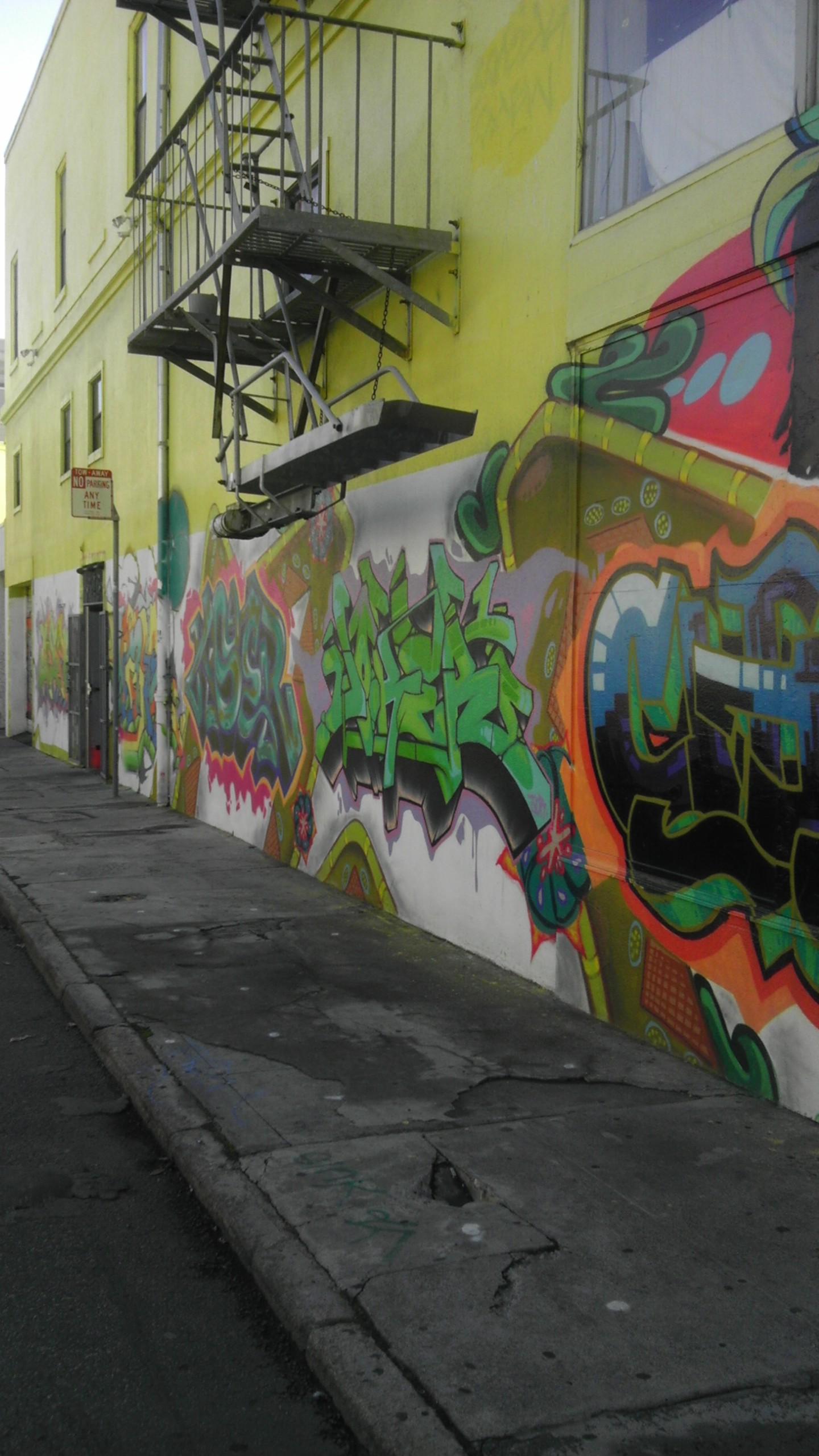alley soma street art san francisco