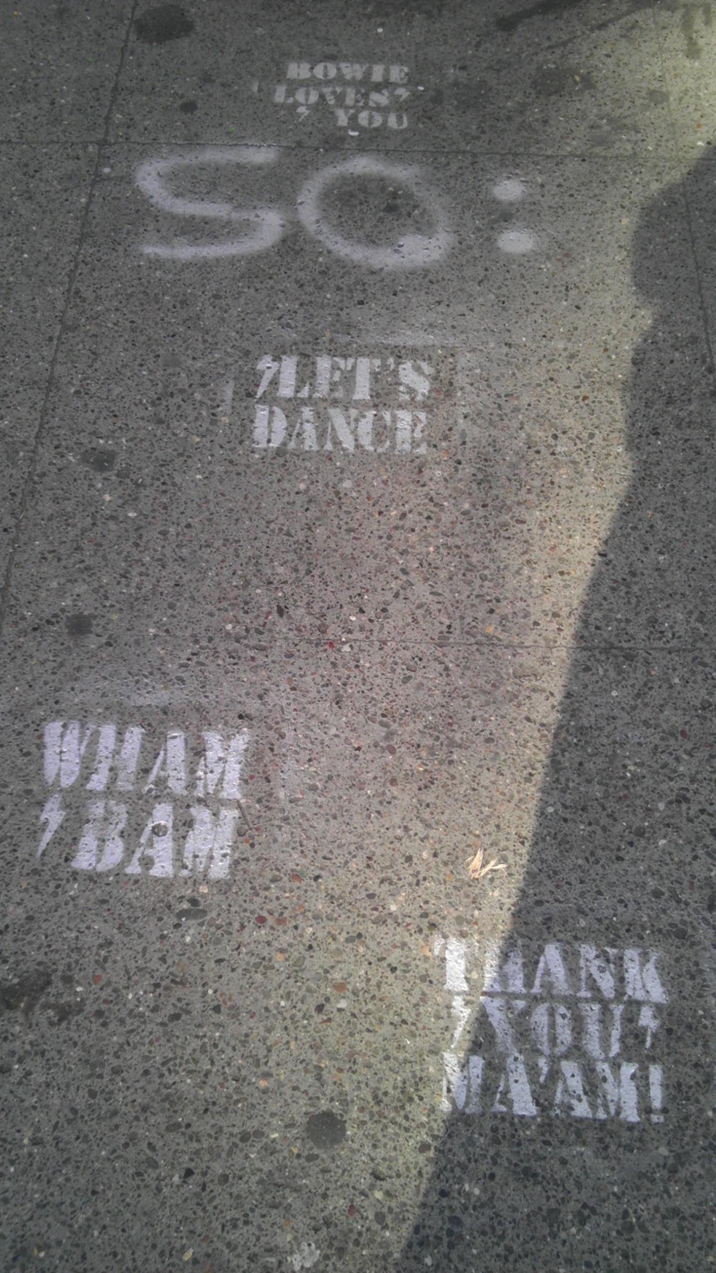 lets dance stencil bowie san francisco
