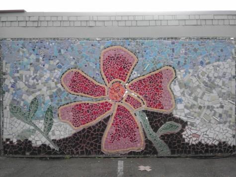 mosaic flower jingletown oakland