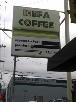kefa coffee jingletown oakland
