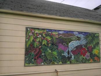 Jingletown mosaic Oakland California