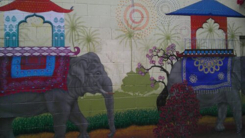Elephants Clarion Alley San Francisco