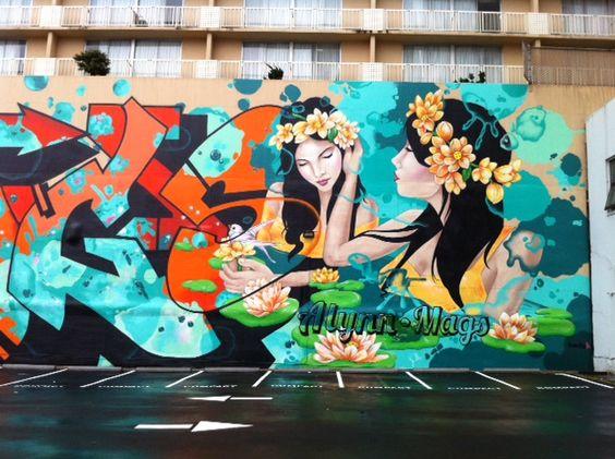 Allyn Mags Hotel Mural San Francisco