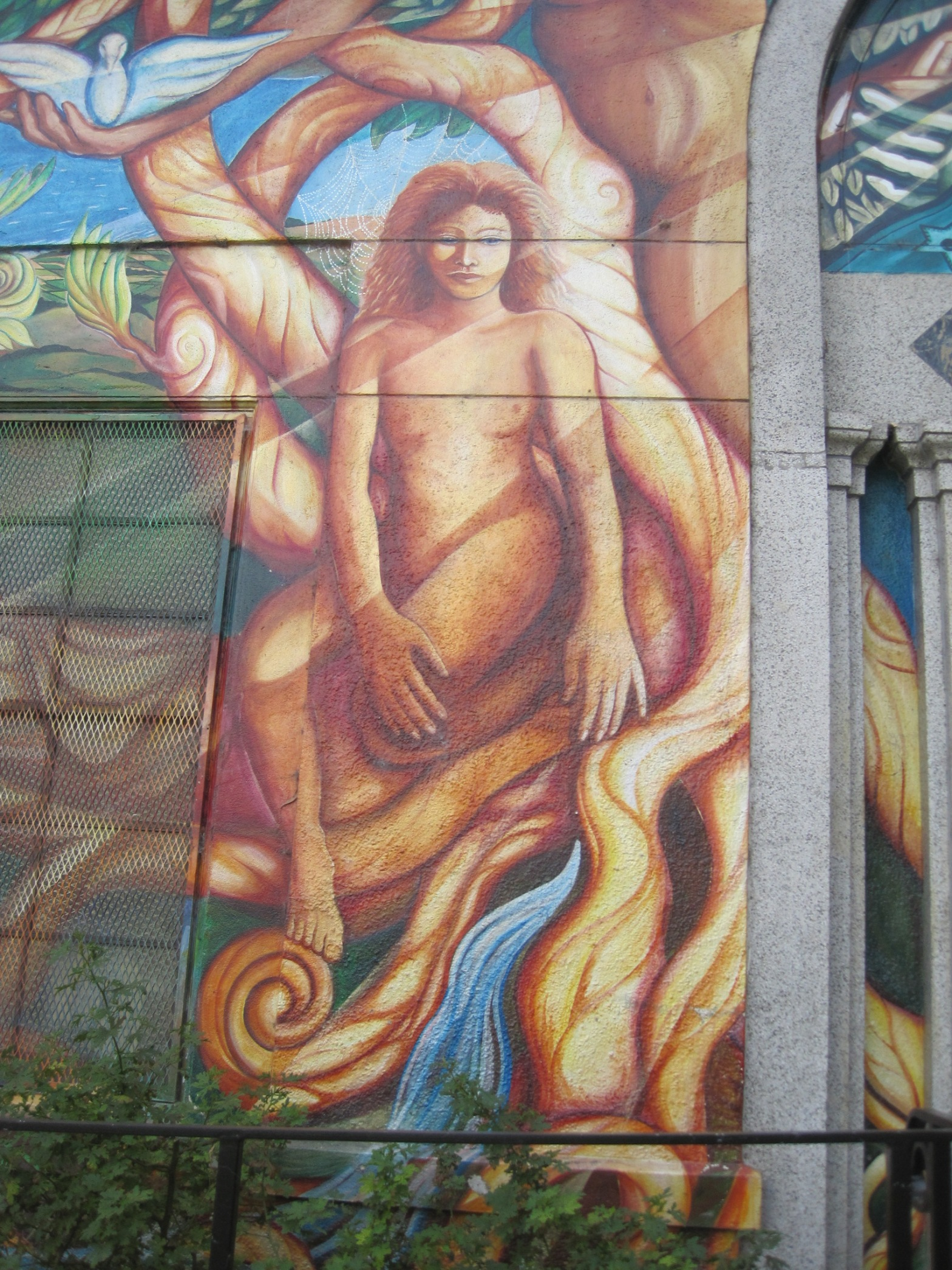 San Francisco Mission pool mural