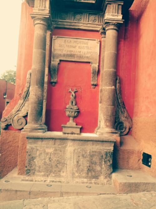 Antique Fountains of San Miguel de Allende, Mexico