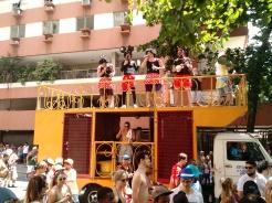 Band during carnival, Rio de Janeiro