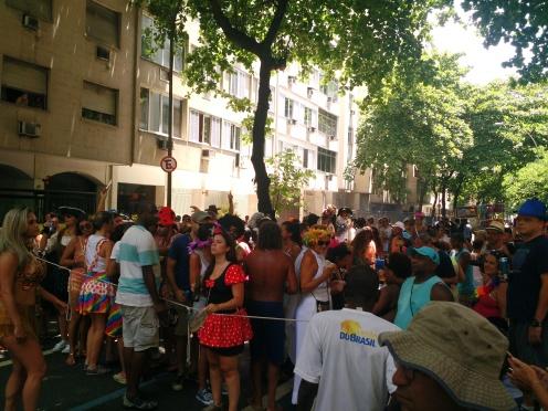 Carnival in a Rio de Janeiro neighborhood