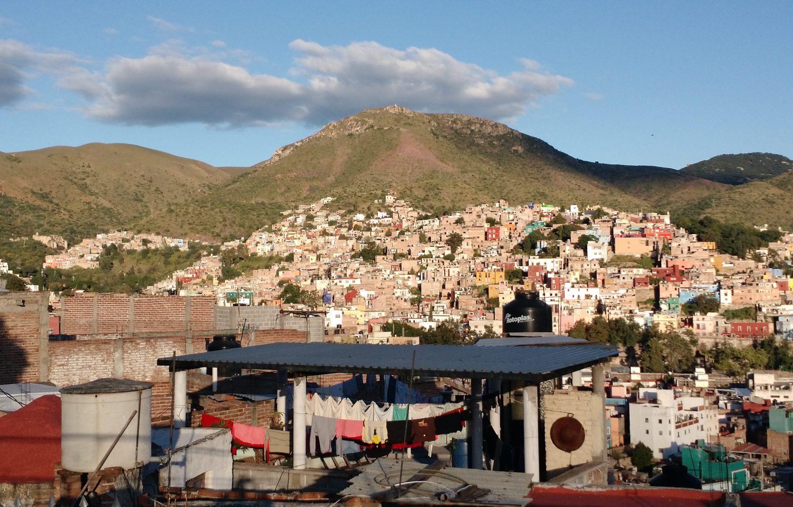 hillside of Guanajuato Mexico