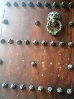 doorknocker in Caratagena Colombia